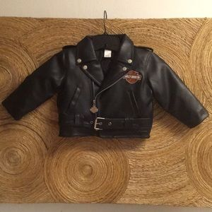 Harley-Davidson Pleather Jacket 2T for toddler